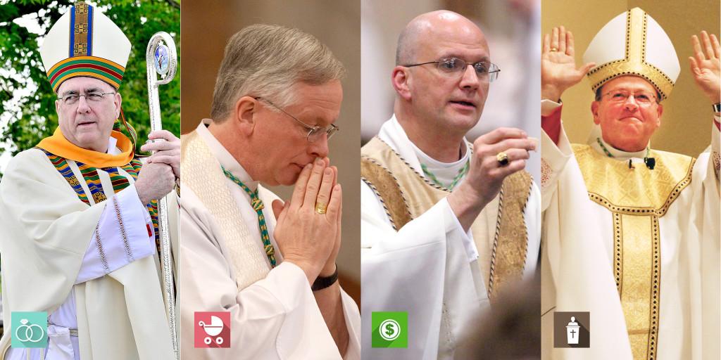 Bishops present information for informed voters.