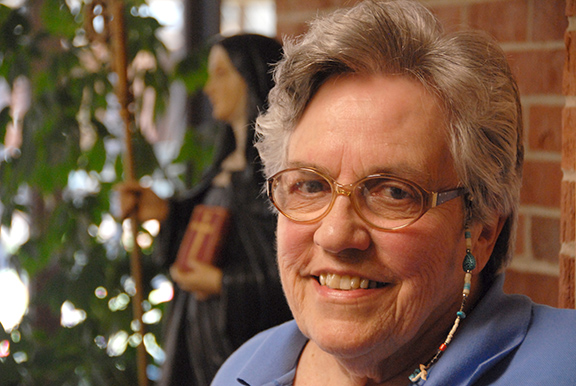 Sister Gabrielle Kocour, OSB, has spent her life working for the poor and disenfranchised. Over the course of 65 years, she's worked in a wide variety of ministries that champion the poor.