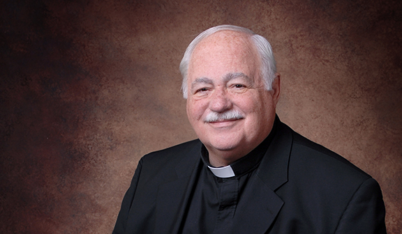 Father Charles McGlinn, pastor of Curé of Ars Parish in Leawood has been writing poetry and prayers for years to help him with his homilies.