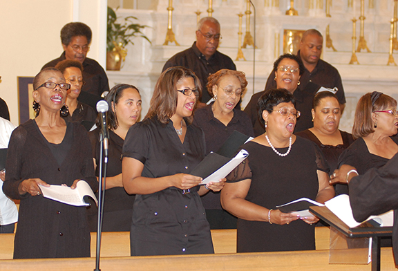 "The Our Lady & St. Rose Choir in Kansas City, Kan., will offer its annual fall gospel concert — ""Give Yourself Continually to Prayer and the Ministry of the Word"" — at 3 p.m. on Sept. 30."