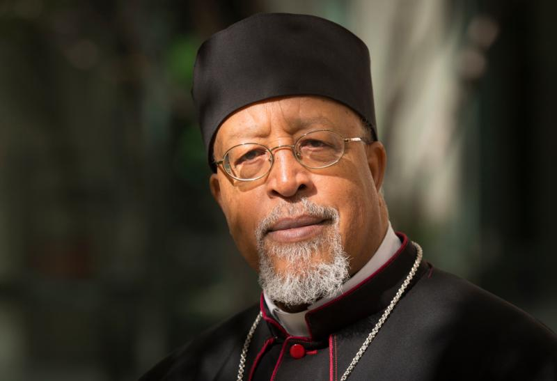 In this 2013 file photo, Ethiopian Cardinal Berhaneyesus Souraphiel of Addis Ababa is pictured in Washington. The cardinal says different countries face different challenges to the family, and he predicts flexibility in church teaching. (CNS photo/Nancy Phelan Wiechec)