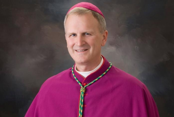 Bishop James V. Johnston of Springfield-Cape Girardeau, Mo., is seen in this undated photo. Pope Francis has named Bishop Johnston the new bishop of Kansas City-St. Joseph, Mo. (CNS photo/Scroggins, Diocese of Springfield-Cape Girardeau)