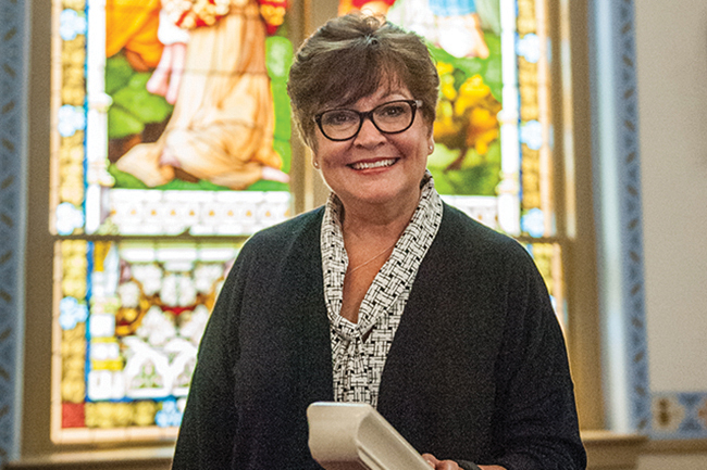 Lesle Knop is the executive director of the archdiocesan office of stewardship and development. You can email her at: lesleknop@archkck.org