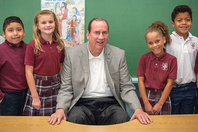 Michael Morrisey is the executive director of the Catholic Education Foundation. You can reach him at (913) 647-0383 or send an email to him at: mmorrisey@archkck.org.