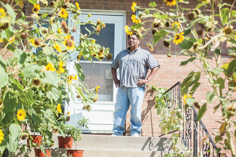 Leaven photo by Jill Ragar Esfeld Ray Diaz stands at the front door of his new apartment — a long way from the broken-down pickup truck he called home two years ago.