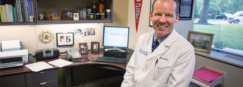 Dr. Joseph McGuirk is the director of KU Medical Center's division of hematologic malignancies and cellular therapeutics.
