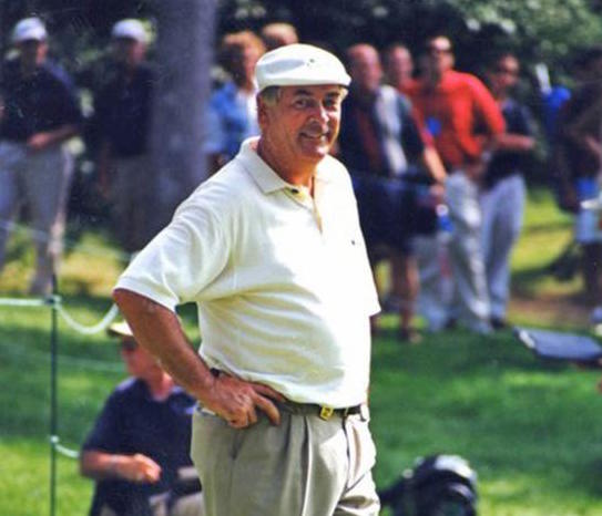 Christy O'Connor Junior, an Irish golfer who helped Europe retain the Ryder Cup in 1989, is seen in this undated photo. The former European champion died in the Canary Islands Jan. 6 at the age of 67. (CNS photo/Public Domain)