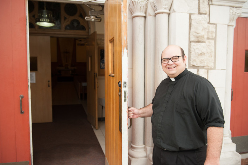 Father Andrew Strobl is the archdiocesan director of evangelization.