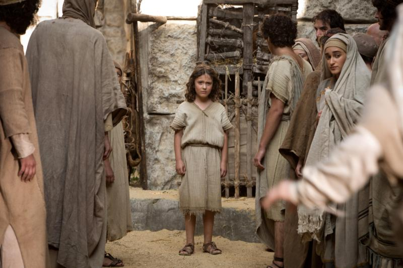"""Adam Greaves-Neal stars in a scene from the movie """"The Young Messiah."""" The director and one of the producers of the upcoming movie said they had the blessing of author Anne Rice, whose novel, """"Christ the Lord: Out of Egypt,"""" inspired the screenplay. (CNS photo/Focus)"""