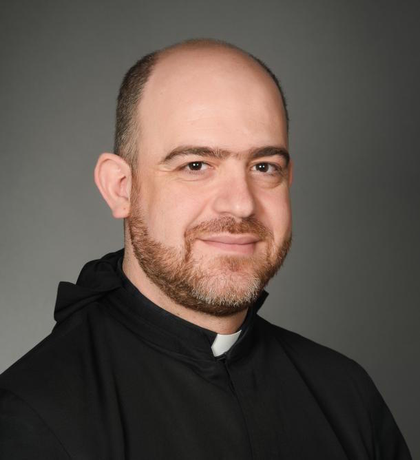 Father Fadi Abou Chebel, pictured in a 2015 photo, has been appointed by Pope Francis as the first Apostolic Exarch of the new Maronite Apostolic Exarchate of Colombia, which will also serve Peru and Ecuador.(CNS photo/Nathalie Nasr for Notre Dame University, Louaize, Lebanon)