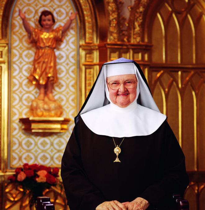 Mother Angelica, founder of Eternal Word Television Network, died at age 92 March 27 at the Poor Clares of Perpetual Adoration monastery in Hanceville, Ala. She is pictured in an undated photo. (CNS photo/courtesy EWTN) See OBIT-MOTHER-ANGELICA March 28, 2016.