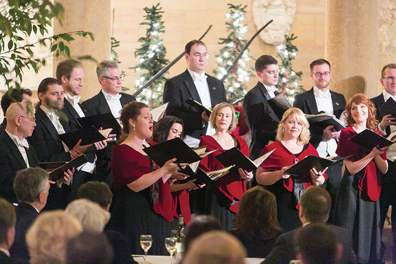 """Kansas City and Phoenix chorales took home a Grammy for the recording of Rachmaninoff's """"All-Night Vigil."""" The piece was recorded at the Cathedral of St. Peter in Kansas City, Kansas. Photo by Jana Marie Photography"""