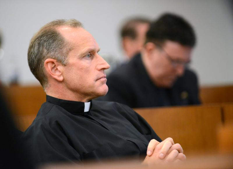 Father Rob Hagan, team chaplain of the 2016 national champion Villanova Wildcats, is seen in this 2012 file photo. (CNS photo/courtesy Villanova University)