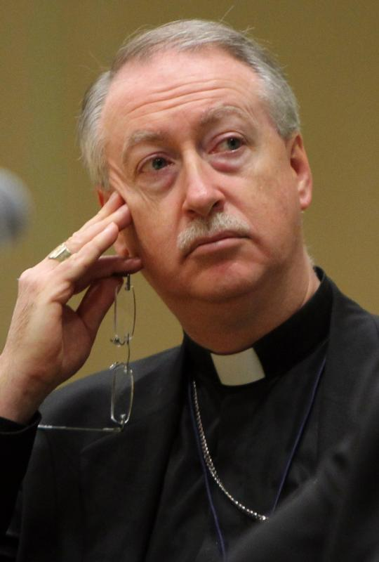 """The specter of assisted suicide is leading aging people to """"fear an institution that should be the last thing they should ever fear, a hospital,"""" said Edmonton Archbishop Richard Smith. Archbishop Smith is pictured in a 2010 photo. (CNS photo/Nancy Wiechec) See CANADA-ASSISTED-SUICIDE-SMITH April 13, 2016."""
