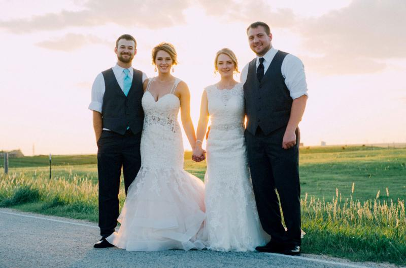 Twin sisters share wedding day – The Leaven Catholic Newspaper