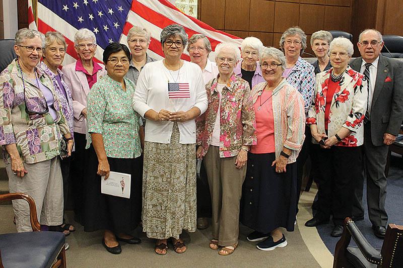 Journey to citizenship culminates for Sister María  