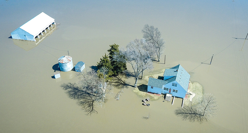 Missouri River flood affects archdiocese |